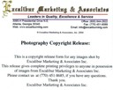 Excalibur Marketing Photographic Release